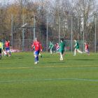 Spieler des FC Stätzling während Spiel